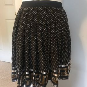 """Versace"" for H&M pleated skirt"